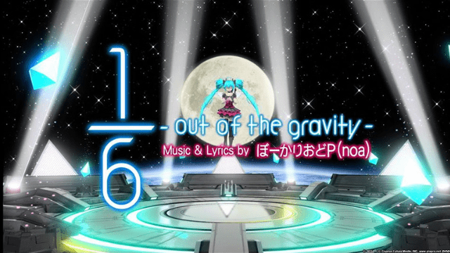 1/6 -out of the gravity